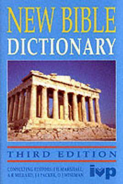 Picture of NEW BIBLE DICTIONARY third edit hbk