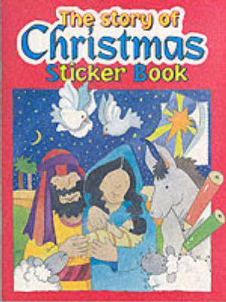 Picture of STORY OF CHRISTMAS STICKER BOOK