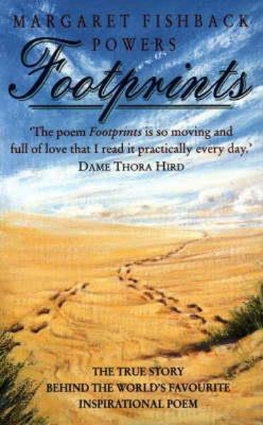 Picture of FOOTPRINTS story behind the poem