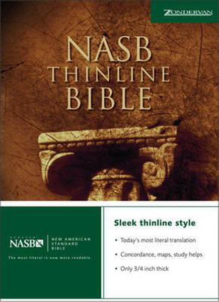 Picture of NASB THINLINE BIBLE  H/B