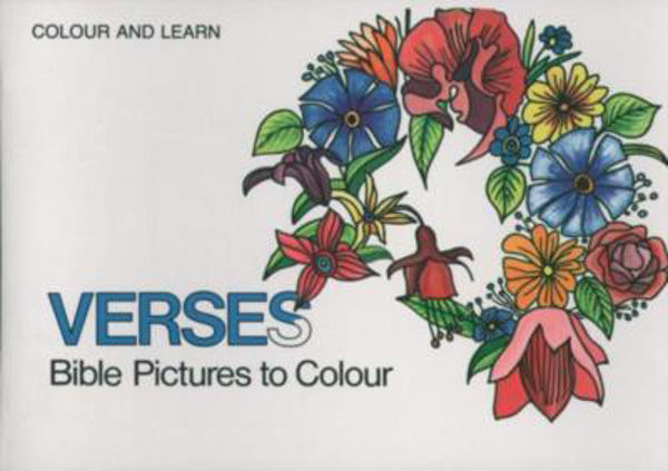 Picture of COLOUR & LEARN/BIBLE VERSES