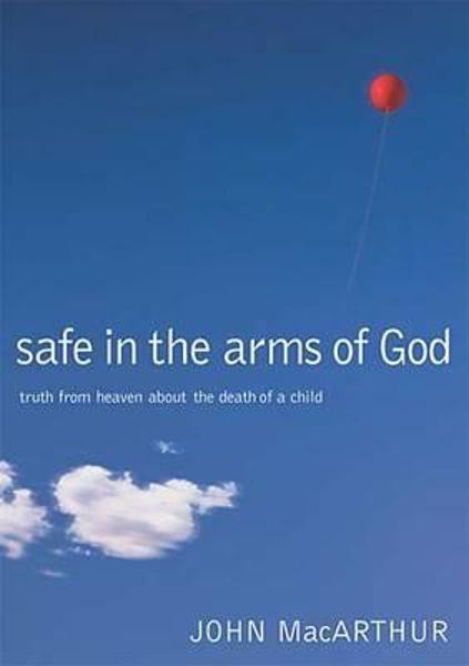 Picture of SAFE IN THE ARMS OF GOD death of a child