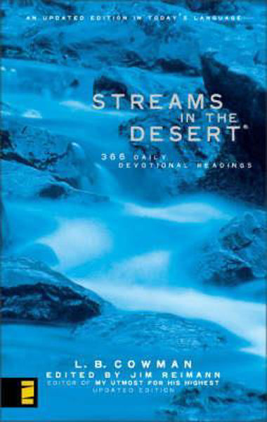 Picture of STREAMS IN THE DESERT pbk