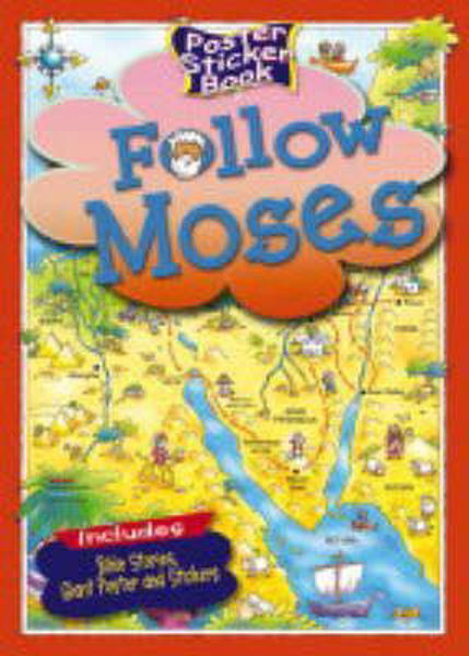 Picture of POSTER STICKER BOOK/FOLLOW MOSES