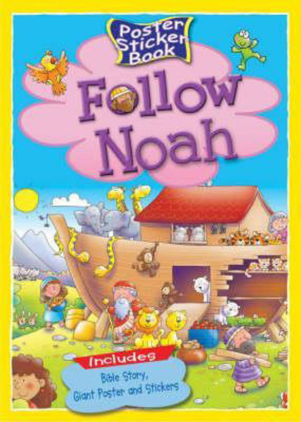 Picture of FOLLOW NOAH Poster sticker book
