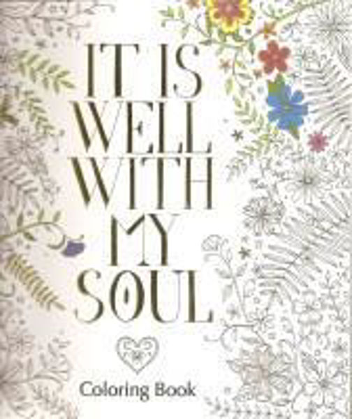 Picture of IT IS WELL WITH MY SOUL Colouring Book