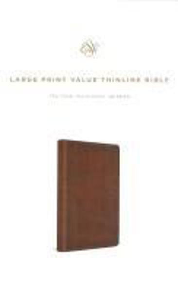 Picture of ESV Large Print Value Thinline Mahogany