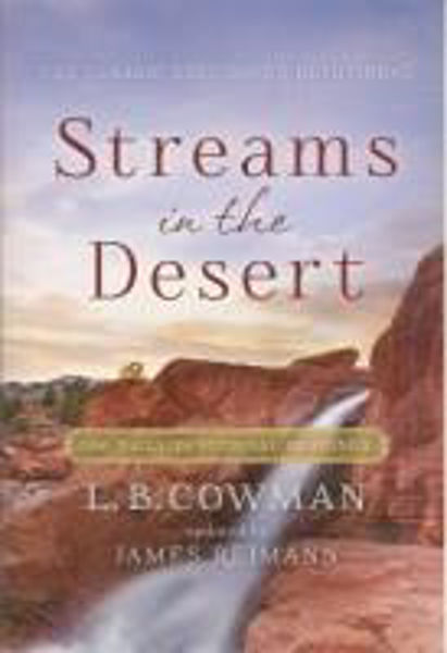 Picture of STREAMS IN THE DESERT paperback