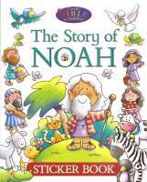 Picture of THE STORY of NOAH STICKER BOOK