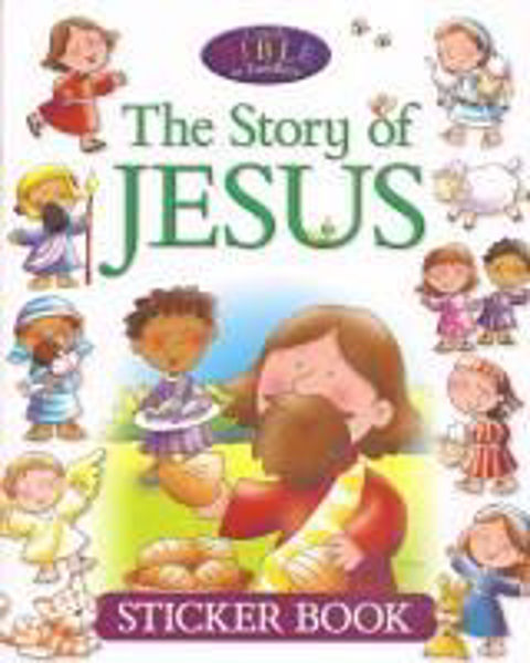 Picture of THE STORY of JESUS STICKER BOOK