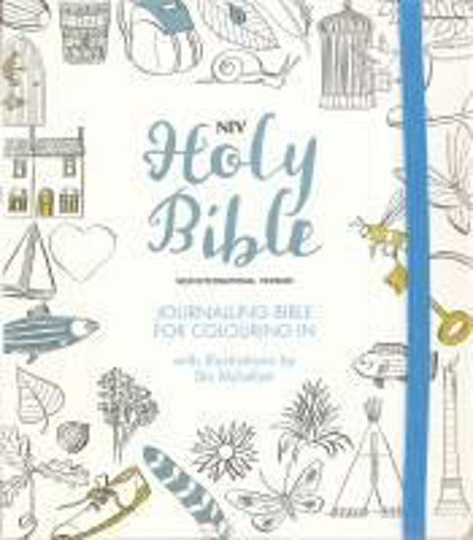 Picture of NIV 2011 JOURNALLING BIBLE for COLOURING