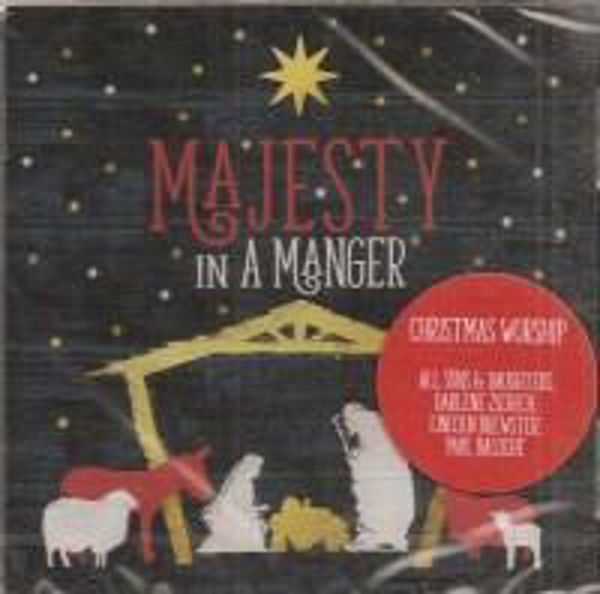 Picture of MAJESTY IN A MANGER Chistmas CD