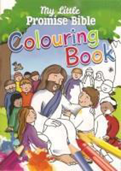 Picture of MY LITTLE PROMISE BIBLE COLOURING BOOK