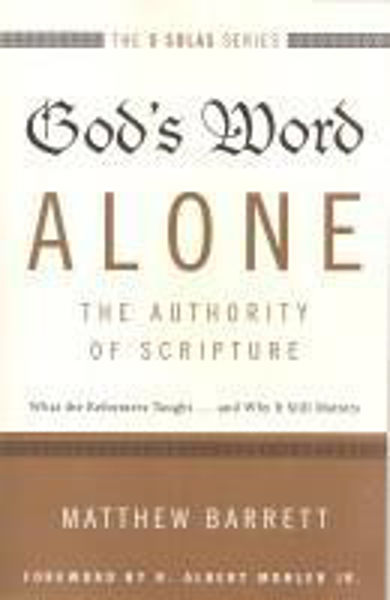 Picture of 5 SOLAS SERIES/#2 GOD'S WORD ALONE