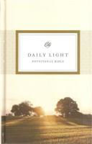 Picture of ESV DAILY LIGHT DEVOTIONAL BIBLE