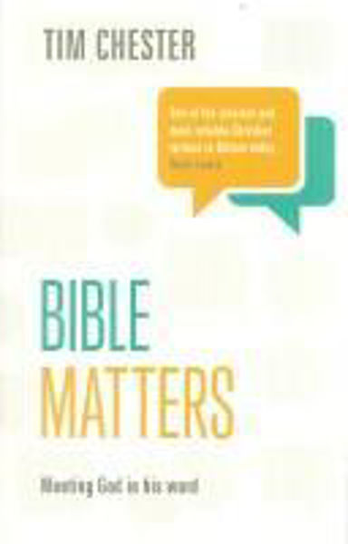 Picture of BIBLE MATTERS Meeting God in His word