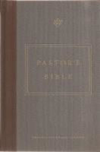 Picture of ESV PASTOR'S BIBLE Cloth Overboard