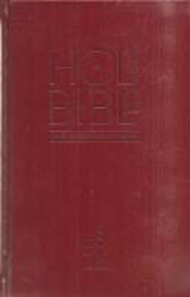 Picture of ESV CHURCH Edition ANGLICISED PEW BIBLE Burgundy
