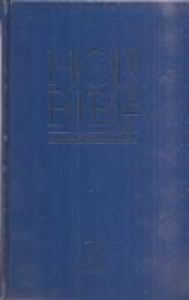 Picture of ESV CHURCH Edition ANGLICISED PEW Bible Blue
