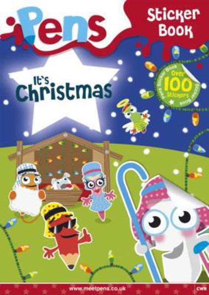 Picture of PENS It's Christmas Sticker Book