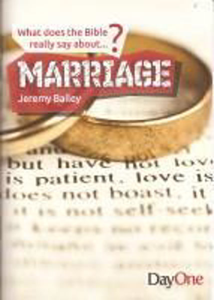 Picture of WHAT DOES THE BIBLE SAY ABOUT/MARRIAGE