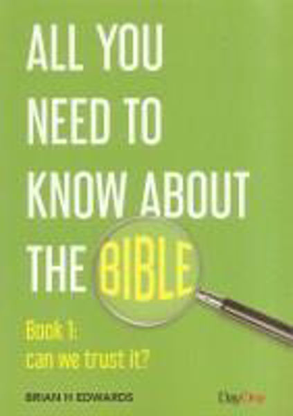 Picture of ALL YOU NEED TO KNOW ABOUT THE BIBLE/#1 Book 1