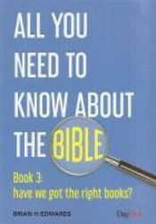 Picture of ALL YOU NEED TO KNOW ABOUT THE BIBLE/#3 Book 3