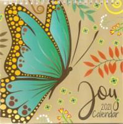 Picture of 2021 CALENDAR JUST CARDS Joy