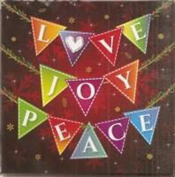 Picture of 2020 JUST CARDS 10/Love Joy Peace