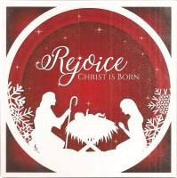 Picture of 2020 JUST CARDS 10/Rejoice Christ is born