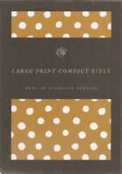 Picture of ESV LARGE PRINT COMPACT Polka Clothboard