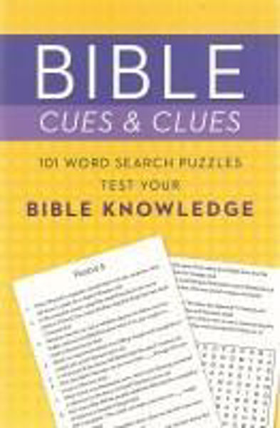 Picture of BIBLE CUES AND CLUES/BIBLE KNOWLEDGE