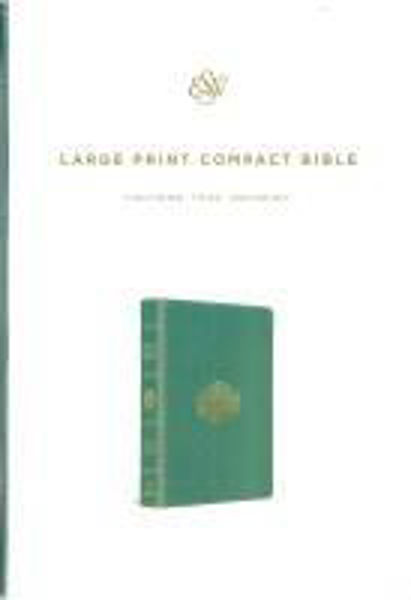 Picture of ESV Large Print COMPACT TEAL BOUQUET