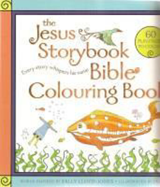 Picture of THE JESUS STORYBOOK BIBLE Colouring book