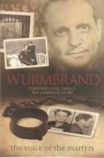 Picture of WURMBRAND the voice of the martyrs