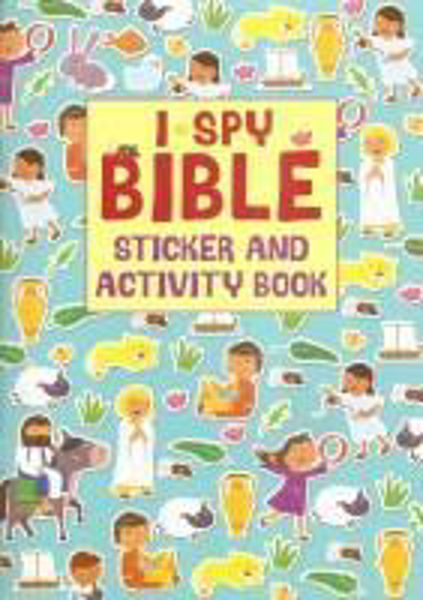 Picture of I SPY BIBLE STICKER/ACTIVITY BOOK