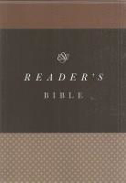 Picture of ESV READER'S BIBLE Paperback