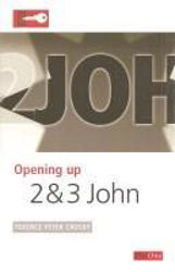 Picture of OPENING UP/2 & 3 JOHN