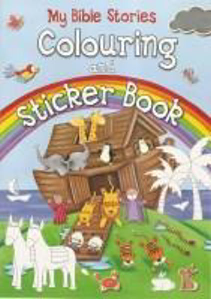 Picture of MY BIBLE STORIES COLOURING & STICKER BOOK