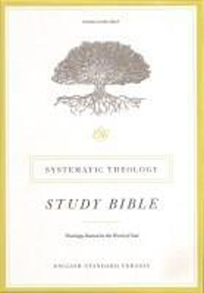 Picture of ESV SYSTEMATIC THEOLOGY STUDY BIBLE Black Genuine leather