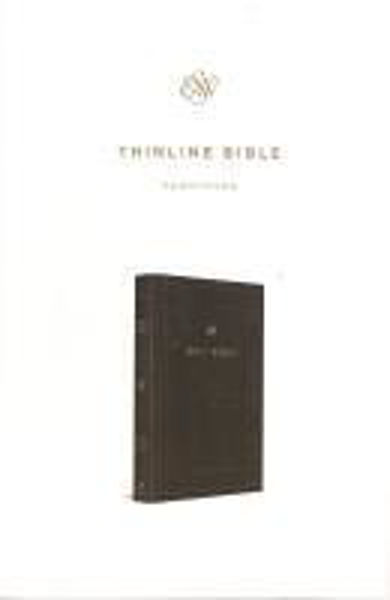 Picture of ESV THINLINE Hardcover deluxe