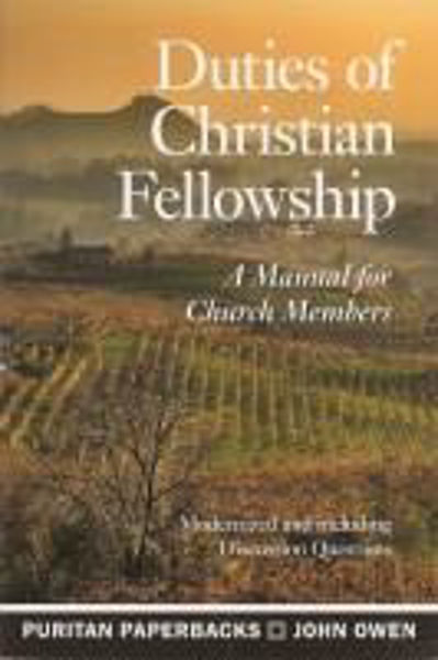 Picture of DUTIES OF CHRISTIAN FELLOWSHIP