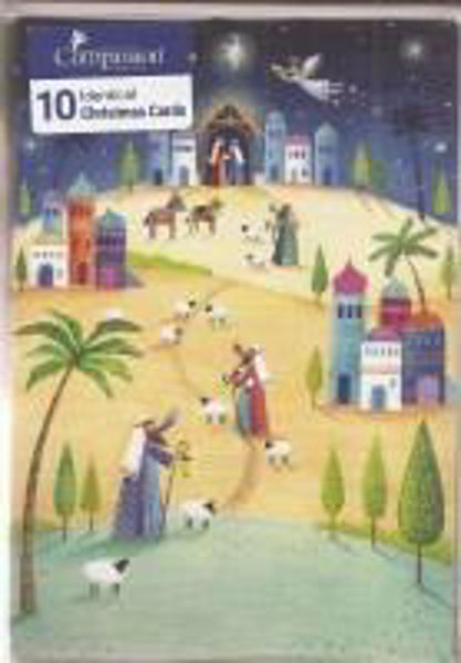 Picture of 2020 COMPASSION 10 CARDS/JOURNEY