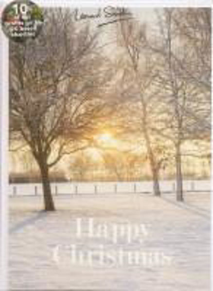 Picture of 2020 LENS 5 CARDS Sun in snowy trees