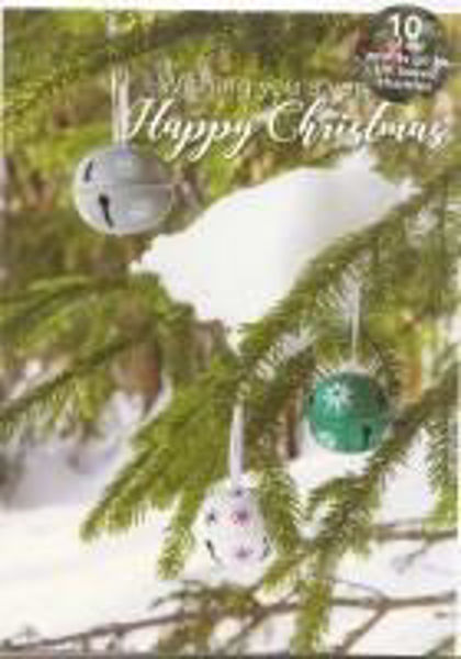 Picture of 2020 LENS 5 CHRISTMAS CARDS Baubles