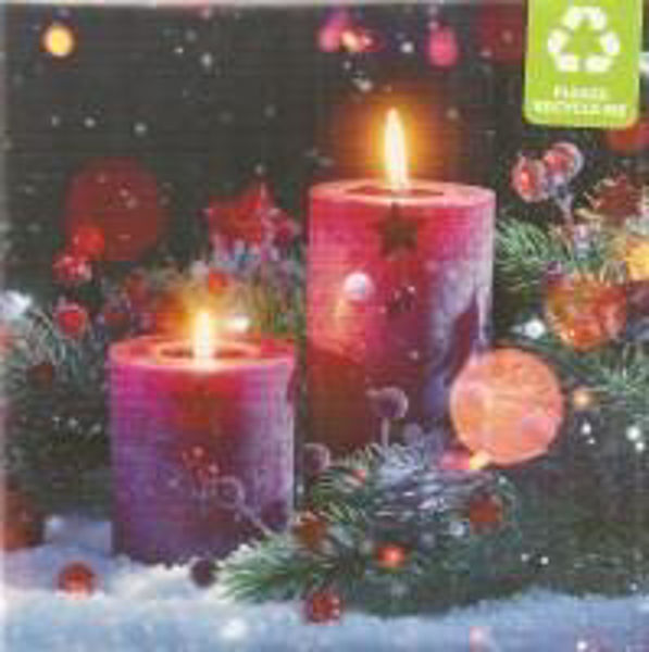 Picture of 2020 DAYONE 10 CARDS festive candles