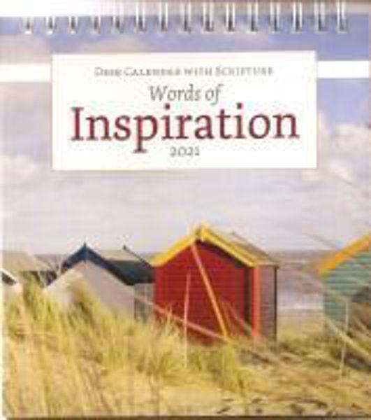 Picture of 2021 CALENDAR Words of Inspiration Desk