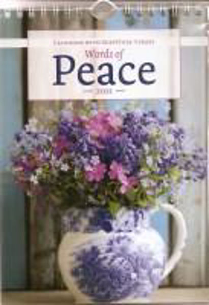 Picture of 2021 CALENDAR Words of Peace