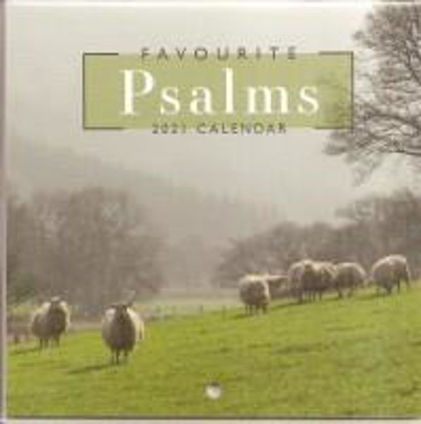 Picture of 2021 CALENDAR FAVOURITE PSALMS small