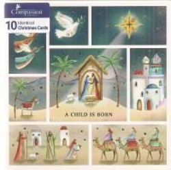 Picture of 2020 COMPASSION 10 CARDS/CHILD IS BORN